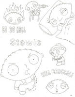 Stewie Collage by InsaneKane87