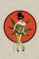 weedpinup by venonded
