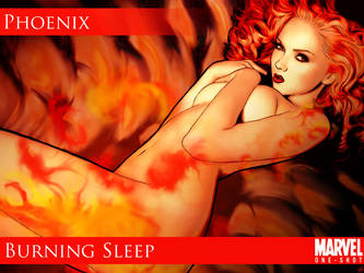 pillow on fire by venonded