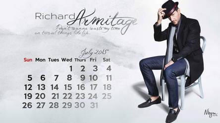 Richard Armitage July 2015 by Elnarseltaair