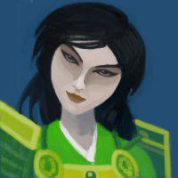 Doji Sakura, Emerald Champion by blint