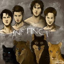 Instinct : Fanart by Supernatural-Fox