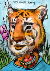 tigerB v color by Kazze