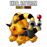 Fakemon: EX016 by DrCrafty