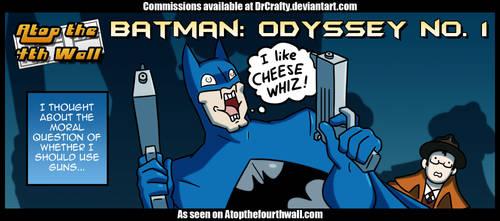 AT4W: Batman odyssey no 1 by DrCrafty