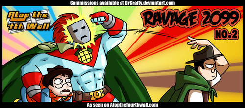 AT4W: Ravage 2099 #2 by DrCrafty