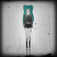 Hatsune Miku - Rolling Girl Fanart by Mikhairu20