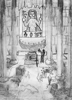 Sweet side of death - illust. by wwwwolf