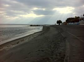 Black Sand Beach by Jabberworks