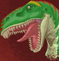 Bertram the dinosaur by Jabberworks