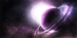 Violet galaxy by Destinaetus