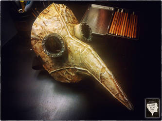 Plague Doctor Mask by SempliceAgrodolce