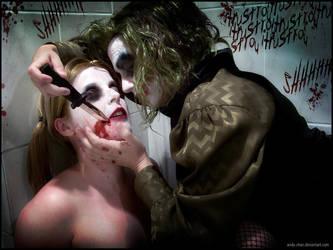 Joker n' Harley: Yours by anda-chan