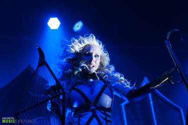 In This Moment live in Montclair by anda-chan