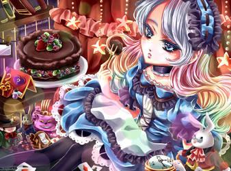 Yuna as Alice by Reikyourin