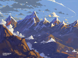 Mountain by ombobon