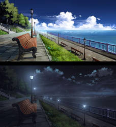 Seaside - VN BG Commission by ombobon