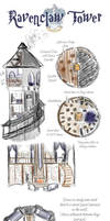 Ravenclaw Tower by Whisperwings