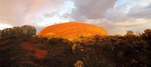 Uluru sunrise by LloydG