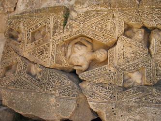 Temple of Bacchus, Baalbek -2 by LloydG