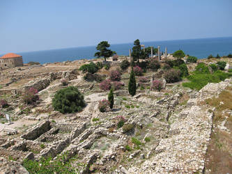 Archaeological site, Byblos, Lebanon by LloydG