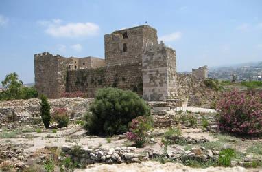Archaeological site, Byblos - Crusader citadel by LloydG