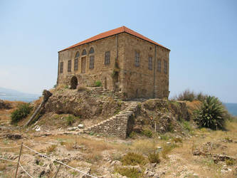 Archaeological site, Byblos - Ottoman house by LloydG