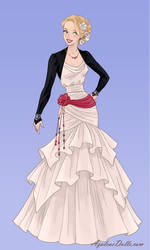 Kody's wedding dress by TactfullFob014