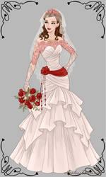 Stephanie's wedding dress by TactfullFob014