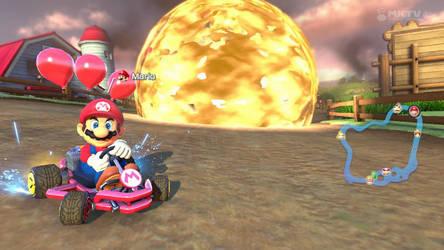 Mario Kart 8- Badass Mario by Killzonepro194
