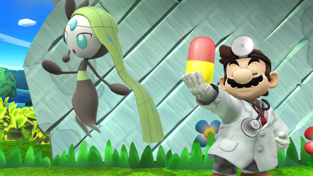 Smash Wii U- The Good Doctor's assistant by Killzonepro194