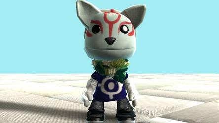 LittleBigPlanet 2- Okami Crash's New Outfit by Killzonepro194
