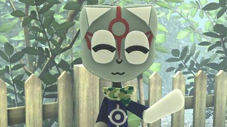 LittleBigPlanet 2- Cutesy Okami Crash by Killzonepro194