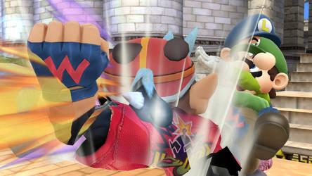 Smash Wii U- Scary Amiibo Amalgamations by Killzonepro194