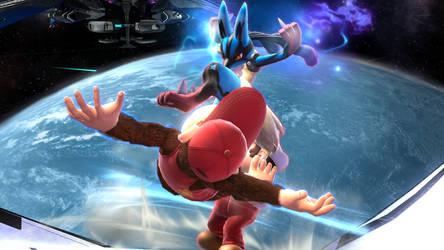 Smash Wii U- Ridin' a Diddy by Killzonepro194