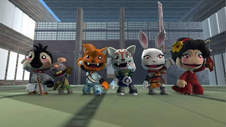 LittleBigPlanet 2- Crash and the Cat Ninja Cast by Killzonepro194