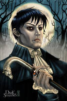 Dark Shadows ~A portrait of Barnabas Collins~ by Guardian-Beast
