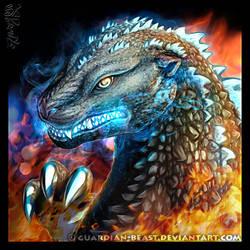 Godzilla! by Guardian-Beast