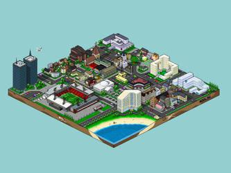 City Work by pandaemas