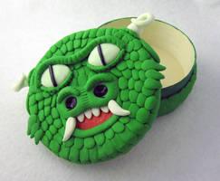 Green Dragon Dice Box by egyptianruin
