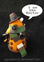Tom Baker Dalek by egyptianruin