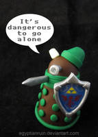 It's dangerous to go alone by egyptianruin