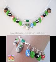 Totoro Bracelet by egyptianruin