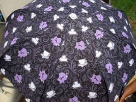 Gentleman Tea Party Umbrella by egyptianruin