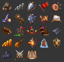 Game icons by Rav3nway