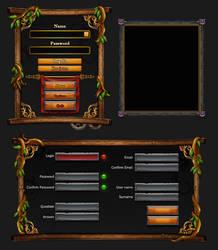 Game interface dialog by Rav3nway