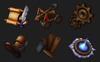 Fantasy Game Icons 2_HQ by Rav3nway