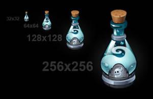 Ghost Bottle by Rav3nway