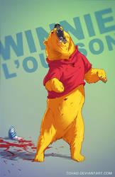 Winnie the pooh BADASS by Tohad