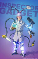 Inspector Gadget BADASS by Tohad
